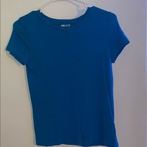 Blue H&M shirt